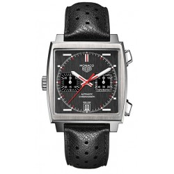 Tag Heuer Monaco Chronograph Mens Watch CAW211B.FC6241