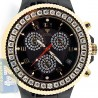 Aqua Master Ceramic 2.85 ct Diamond Mens Gold Tone Watch