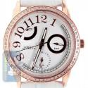 Aqua Master Classique .50 ct Diamond Womens Rose Gold Watch
