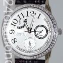 Aqua Master Classique 0.50 ct Diamond Womens Silver Dial Watch