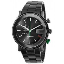 Gucci G-Chrono Black PVD Mens Watch YA101331