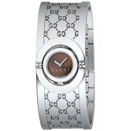 Gucci Twirl Small Steel Womens Watch YA112501