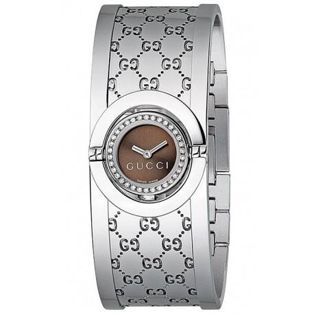 Gucci Twirl Small Diamond Womens Watch YA112503
