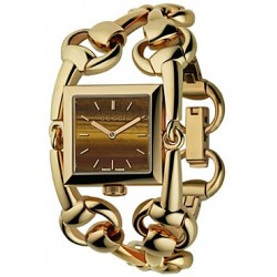 Gucci Signoria 18K Yellow Gold Womens Watch YA116303