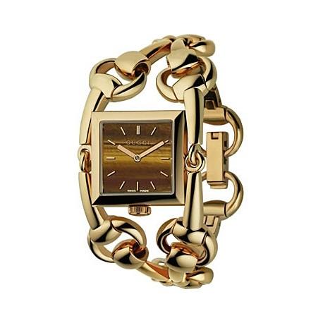 Gucci Signoria 18K Yellow Gold Womens Watch YA116303