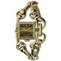 Gucci Signoria 18K Yellow Gold Diamond Womens Watch YA116509
