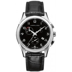 Hamilton Jazzmaster Thinline Chrono Quartz Mens Watch H38612733