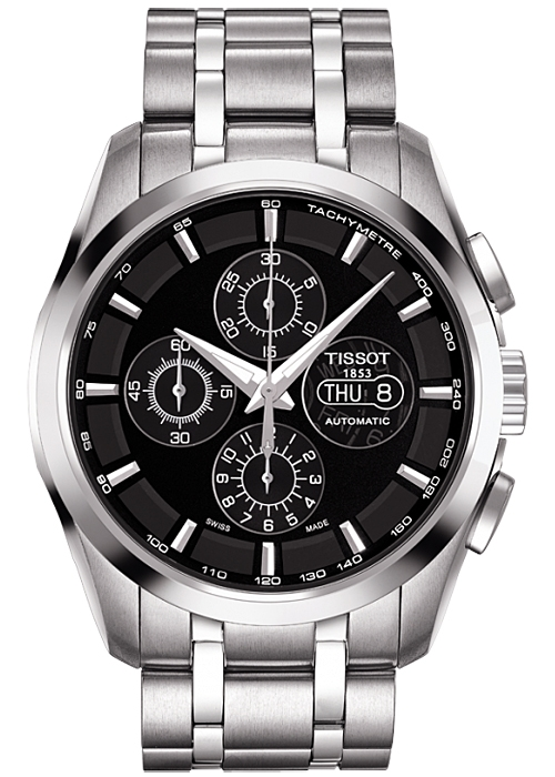tissot couturier automatic chrono mens watch t035 614 11 051 00