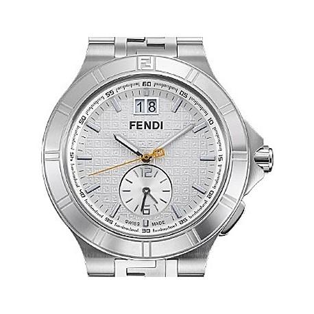 high speed dual time mens watch f477160 fendi high speed dual time mens watch f477160