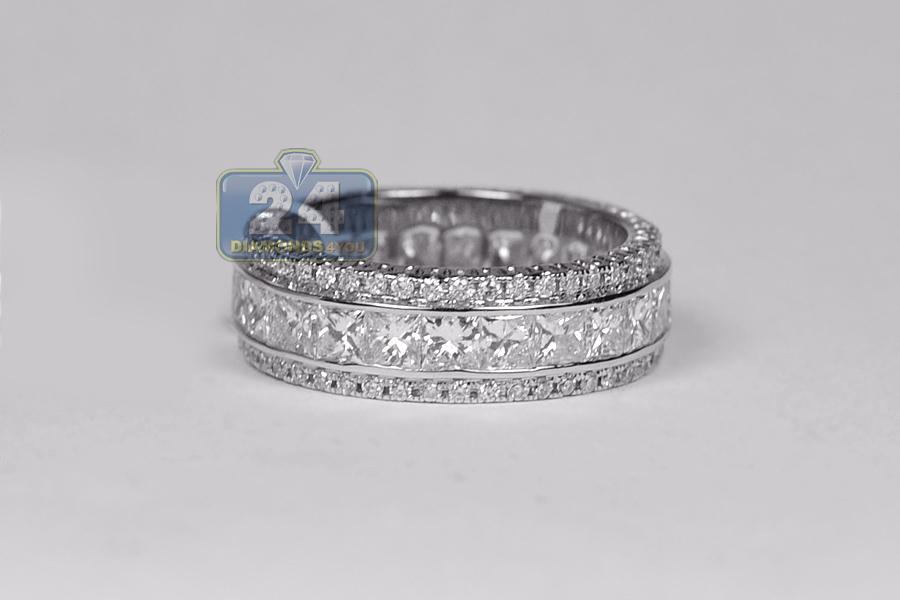 18k white gold ct diamond womens wedding eternity ring. Black Bedroom Furniture Sets. Home Design Ideas