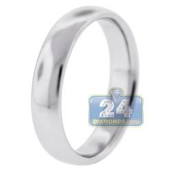 950 Platinum Comfort Fit 5 mm Mens Wedding Ring