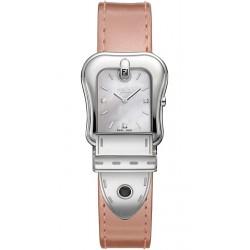 Fendi B.Fendi Glossy Pink Leather Watch F380024571D1