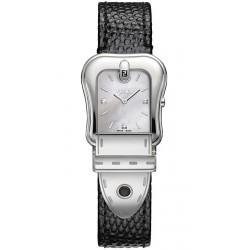 Fendi B.Fendi Black Lizard Leather Watch F382024511D1