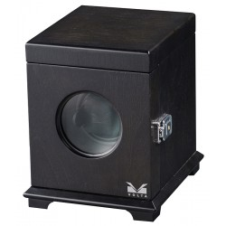 Single Watch Winder Box 31-560011 Volta Belleview Rustic Brown