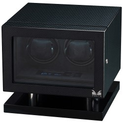 Double Watch Winder Box 31-560020 Volta Signature Carbon Fiber