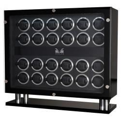 24 Watch Winder Cabinet 31-560240 Volta Signature Carbon Fiber