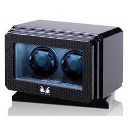 Double Watch Winder Box 31-570021 Volta Roadster Carbon Fiber