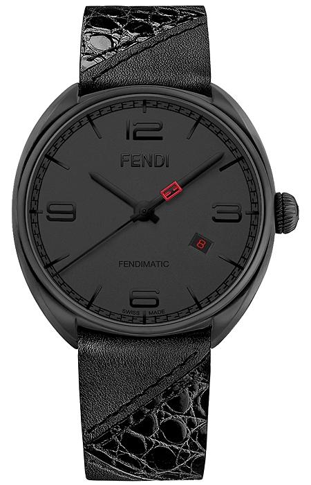 fendi momento bugs automatic mens black watch f202611011