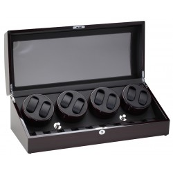 Diplomat Gothica Ebony Wood Eight Watch Winder 31-428