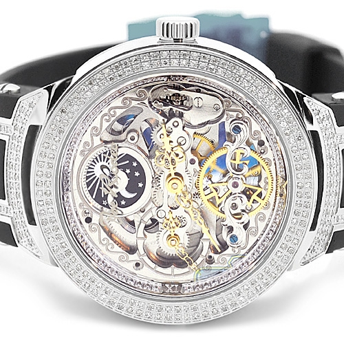 mens diamond watches joe rodeo best watchess 2017 mens diamond automatic watch joe rodeo master jjm80 2 20 ct skeleton