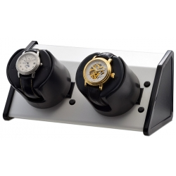 Double Watch Winder W05531 Orbita Sparta Open 2 White