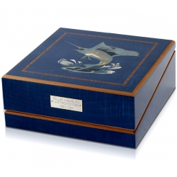 Triple Watch Winder Orbita Giglio Blue Marlin W20052 Rotorwind
