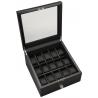 15 Watch Display Storage Box Volta 31-560970 in Carbon Fiber