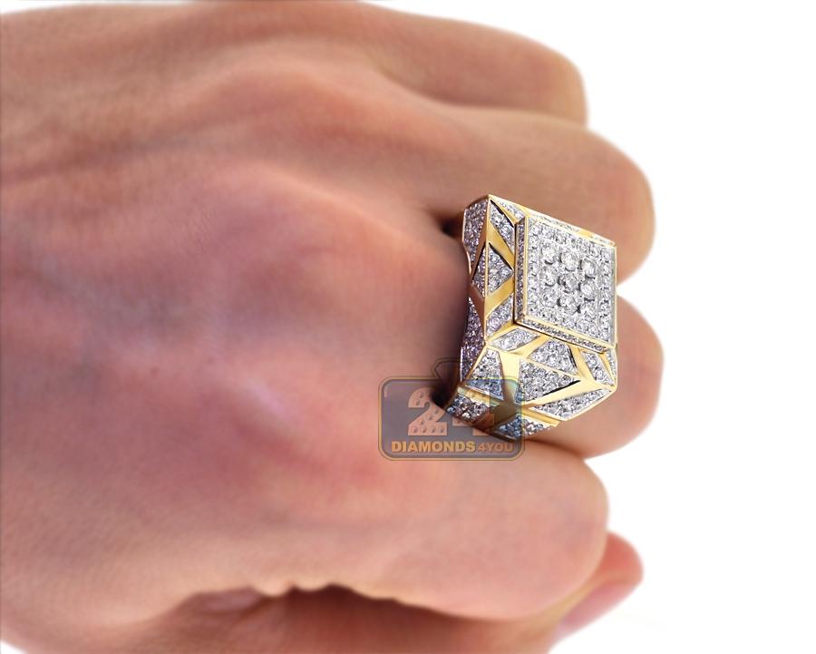 Mens Black Diamond Ring For Sale
