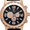 Aqua Master Jumbo 0.24 ct Diamond Mens Rose Gold Watch
