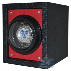 Single Automatic Watch Winder Box W02754 Orbita Piccolo Red