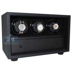 Triple Automatic Watch Winder W21507 Orbita Insafe 3 Black