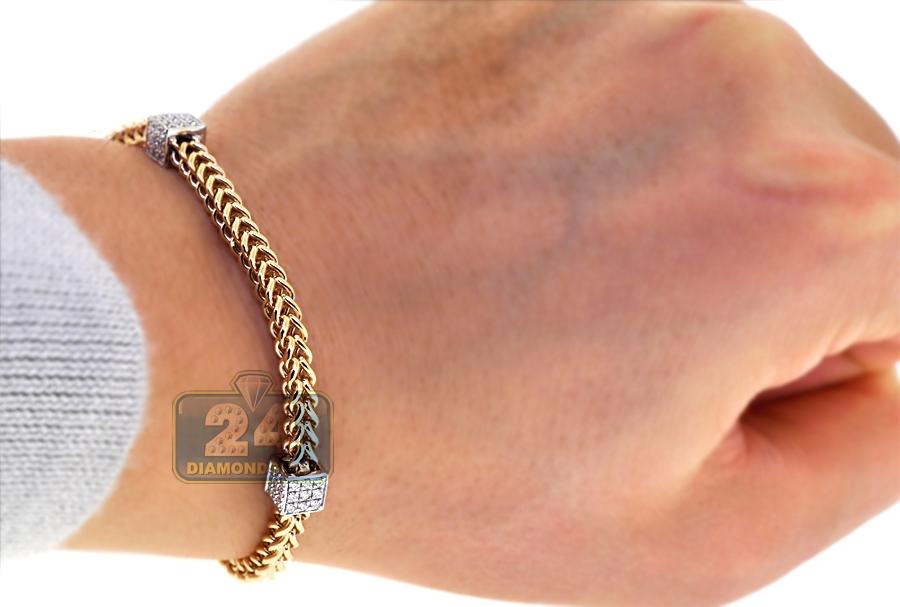 Mens Diamond Link Franco Bracelet 14k Two Tone Gold 102 Ct. Female Anklet. Sterling Pendant. Womens Banglesmardi Gras Beads. Whisper Bracelet. Hurricane Rings. Mothers Rings. Military Necklace. Mother Pendant