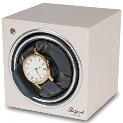 Single Automatic Watch Winder EVO4 Rapport Evolution White