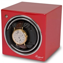 Single Automatic Watch Winder EVO6 Rapport Evolution Red