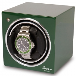 Single Automatic Watch Winder EVO9 Rapport Evolution Green