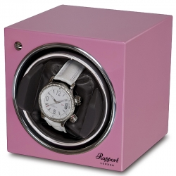Single Automatic Watch Winder EVO12 Rapport Evolution Pink