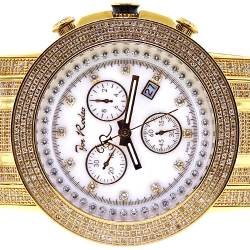 Joe Rodeo Trooper 10.25 ct Diamond Mens Watch JTRO10