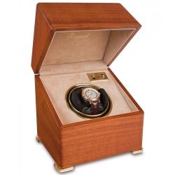 Rapport Perpetua II Satin Walnut Single Watch Winder Box W111