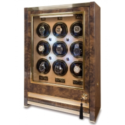 Nine Watch Winder Cabinet W529 Rapport Paramount Walnut Wood