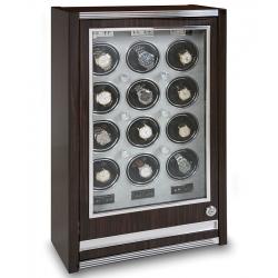 12 Watch Winder Cabinet W412 Rapport Paramount Macassar