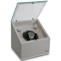 Rapport Astro Silver Wood Single Automatic Watch Winder W153