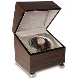 Single Automatic Watch Winder W341 Rapport Vogue Macassar Wood