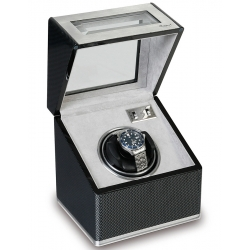 Rapport Optima F3 Carbon Fiber Single Automatic Watch Winder W251