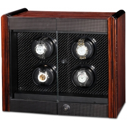 Quad Watch Winder Cabinet W70009 Orbita Avanti 4 Programmable