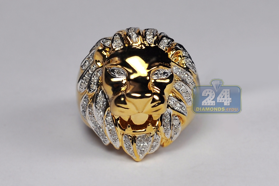 Lion Gold Ring Images