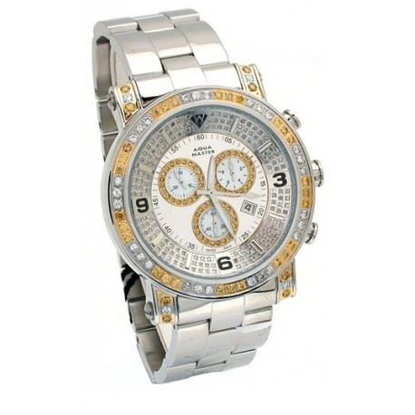Aqua Master Power 3.60 ct Diamond Men's Watch AM0125