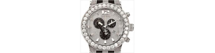 Mens and Womens Joe Rodeo Diamond Watches