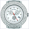 Joe Rodeo Pilot 11.00 ct Diamond Mens Watch JRPL4 - 24diamonds.com