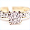 14K Yellow Gold 0.60 ct Diamond Engagement Ring - 24diamonds.com