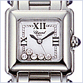 Chopard Happy Sport Square Womens Watch 278893-3006